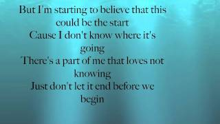 Daughtry - Start Of Something Good Lyric Video