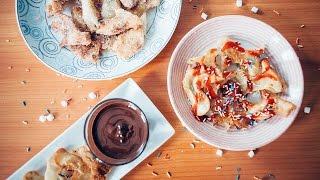 สูตรอาหารทานเล่น 'แป้งทอดน้ำตาล' Cinnamon Sugar Tortillas