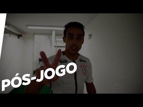 Carille e jogadores do Corinthians comentam a goleada contra o São Caetano