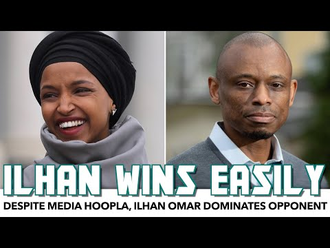 Ilhan Omar Easily Wins Primary Despite Media Hoopla