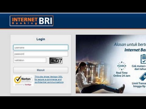 Cara transfer via Internet Banking Bri ke Bank Lain