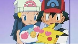 Pikachu Cute Moment : Pikachu In Love With Piplup | Pikachu Best Moments