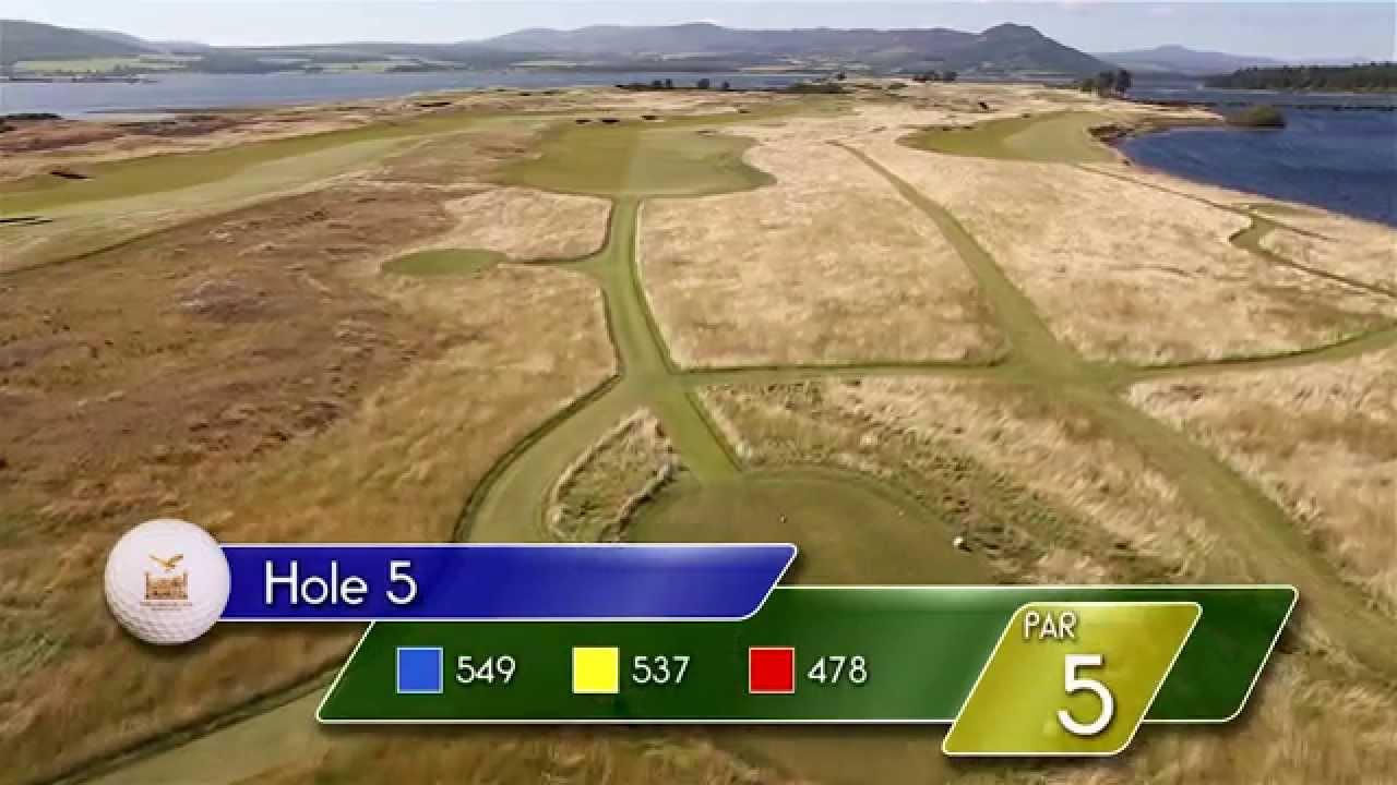 Carnegie Links Hole 5 - YouTube video