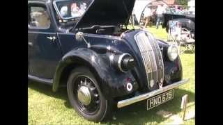 preview picture of video 'Haynes Village 100 Classic Vehicle Event 2014'