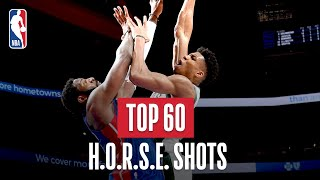 NBA's Top 60 H.O.R.S.E. Shots | 2018-19 NBA Season