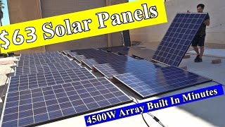 Dirt Cheap Used Solar Panels: 250W for $50 + Shipping