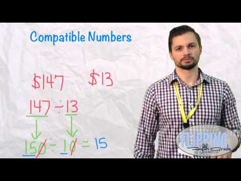 Download Topic 5.1: Using Compatible Numbers To Estimate Quotients With Two Digit Divisors Mp4 HD Video and MP3