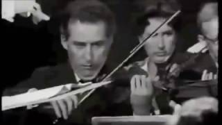 Sir John Barbirolli in Rehearsal - Bruckner Symphony No. 7 - Scherzo