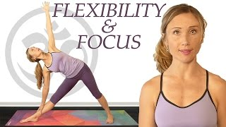 Yoga for Flexibility & Focus, Beginners to Intermediate 20 Minute Workout with Tessa by PsycheTruth