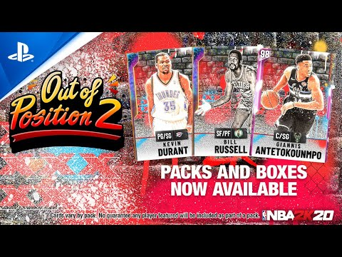 NBA 2K20 - MyTEAM: Out of Position 2 Pack | PS4
