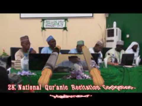 2014 Nigerian Qur'an Competition: Yobe State 60 Hizb Female Representative