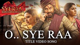 Sye Raa Narasimha Reddy Title Song