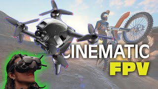 Cinematic FPV Drone Freestyle 4K Footage and Sound Edit Reel