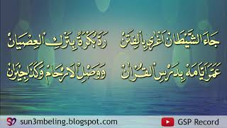 Orang Kuat By Al Muqtashidah Langitan (With Text)