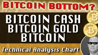 Bitcoin Bottom? BITCOIN CASH : BITCOIN GOLD : BITCOIN CryptoCurrency Technical Analysis