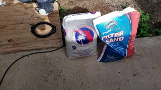 Intex Pool: Changing Filter Sand