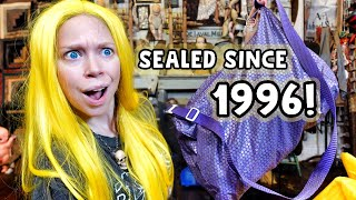 I Haven't Opened This Bag In 24 YEARS?! - Time Capsule Bag