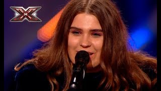 The girl pushed the judges of the X factor into shock with her author's song
