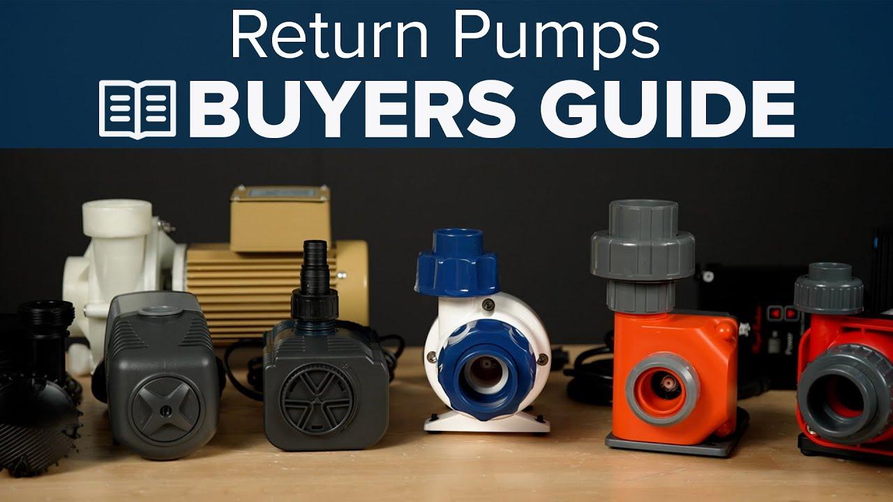 Watch BRStv - Return Pump Buyers Guide