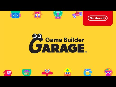 Nintendo's Game Builder Garage Lets You Make Your Own Switch Games