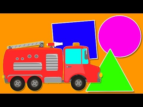 Fire Truck | Shapes Toys For Children | Baby Video