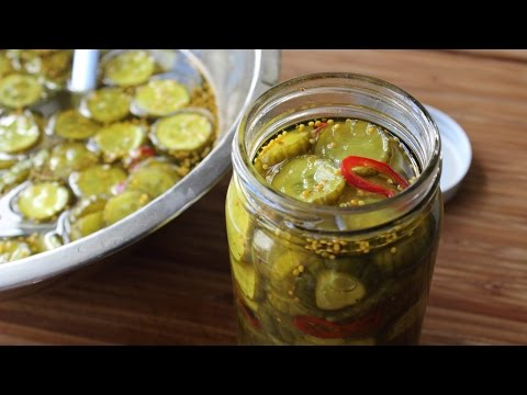 Bread & Butter Pickles – How to Make Great Depression-Style Sweet Pickles