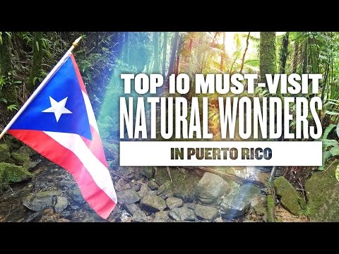 Video Visit Puerto Rico - 10 Things you will love to do in Puerto Rico...Monica Puig Gana Oro!! Teamrubio