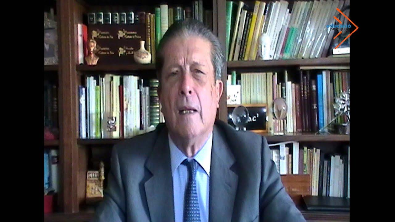 Repensar l'educació des de principis ètics - Federico Mayor Zaragoza