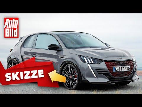 Peugeot 208 T16 (2020): Skizze - Neuauflage - Rallye - Motor - Info