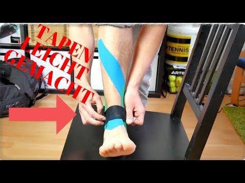 Ursachen des Kniebänder Stretching
