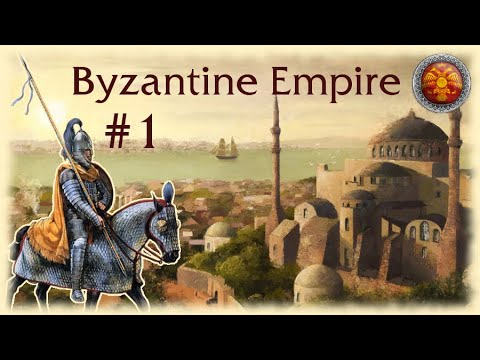 M2TW: Broken Crescent Mod ~ Byzantine Empire Campaign Part 1, To Glory!