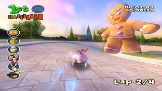 Shrek Smash n' Crash Racing (PS2) Tournament Mode Walkthrough