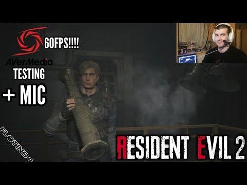 Avermedia Test | Resident Evil 2 - Infinite Rocket Launcher, Minigun & LE5 | Test Mikrofonu/60FPS