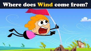 Where does Wind come from? + more videos | #aumsum #kids #science #education #children