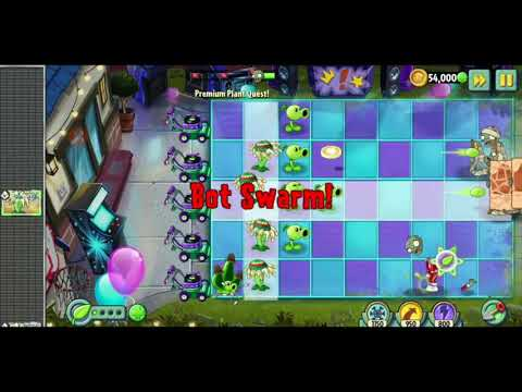 Plants vs Zombies 2 Witch Hazel Epic Quest Walkthrough