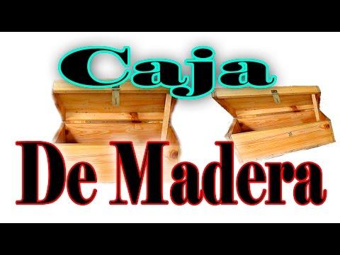 Cómo Hacer Una Caja baúl o cofre de Madera