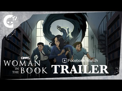 WOMAN IN THE BOOK SERIES TRAILER (2021) | Crypt TV
