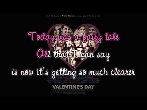 TODAY WAS A FAIRYTALE by:Taylor Swift - Instrumental