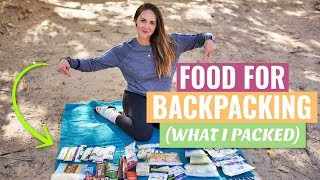 What Im Eating On A 3-Night Backpacking Trip - BACKPACKER MEAL IDEAS