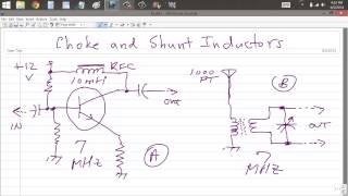 Choke and Shunt Inductors