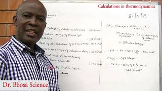 Thermodynamic part 2 of 2 (questions and answers) by Dr. Bbosa Science