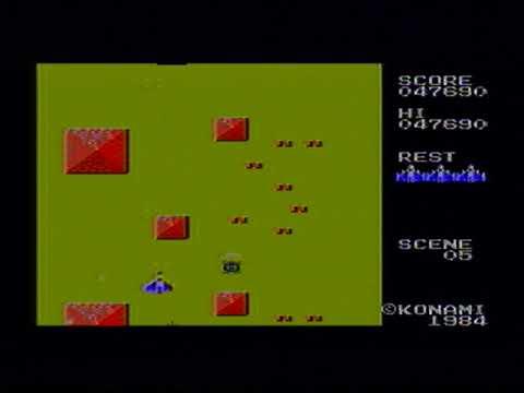 Sky Jaguar Complete Playthrough - MSX Konami