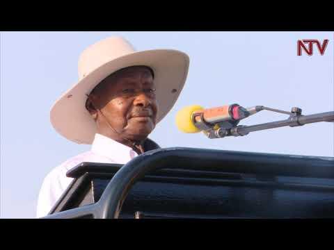 Museveni asabye abe Katakwi okukozesa emirembe okwekulaakulanya