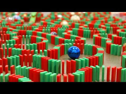 Merry Christmas in Dominoes! ?? (Christmas Card)