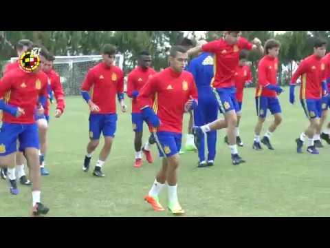 VÍDEO | La Selección española se une más que nunca ante el desafío portugués