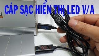 Trên Tay Cable sạc/dữ liệu 3.0 Type-C Micro USB LED V.A