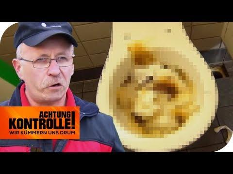 Autobahn-Toiletten: Alles voller Sch****! Hartmut macht sauber! | Achtung Kontrolle | kabel eins