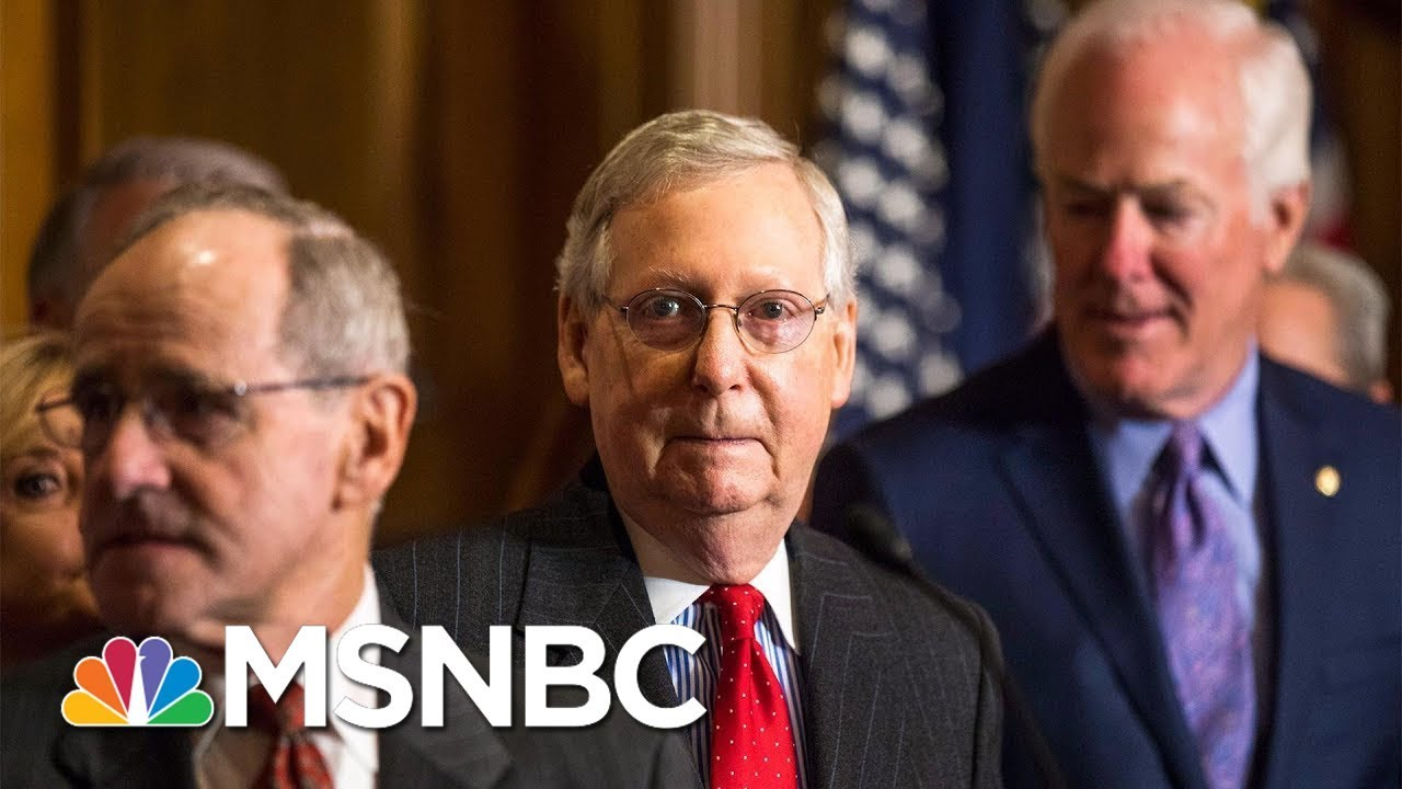 GOP Leaders Express Concerns Over Tax Bill | Velshi & Ruhle | MSNBC thumbnail