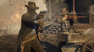 Red Dead Redemption 2   Геймплей (на русском)