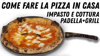 🔴 La Pizza Napoletana Casa Come In Pizzeria 🔴 Ricetta Impasto e Cottura Metodo Combo